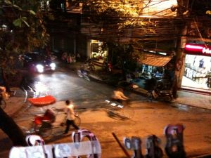 8 august - Hanoi at night