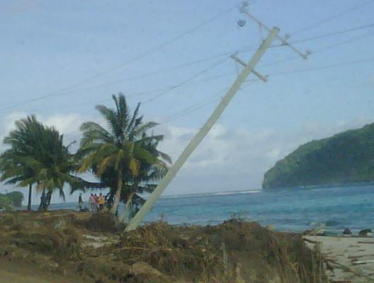 Samoa - Tsunami