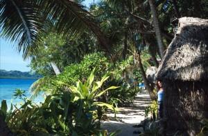 Fiji - isola di Caquelai