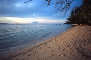 Fiji - Taveuni - la spiaggia