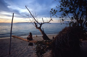 Fiji - Taveuni - tramonto