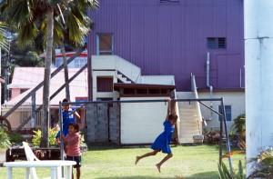 Fiji - Levuka - bambini felici