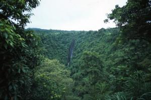 Samoa - cascate di Papapapai-tai