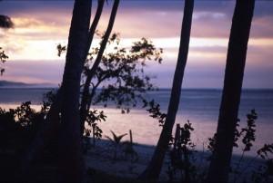 Fiji - tramonto