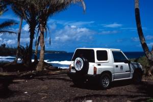 Samoa - in macchina lungo la costa