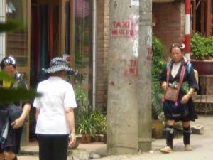 Vietnam - Sapa - donna tribù Black H'Mong