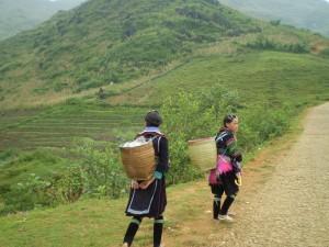 Vietnam - Sapa - verso il villaggio Black H'Mong