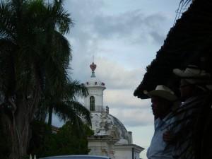 America Centrale - El Salvador - Suchitoto - la cattedrale