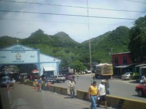 America Centrale - El Salvador/Honduras - frontiera