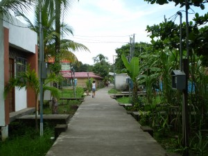 America Centrale - Costarica - Tortuguero - il paese