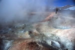 Bolivia - geyser