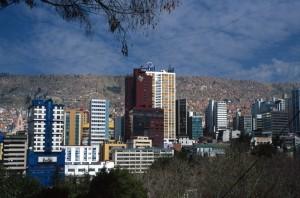 Bolivia - La Paz dall'alto