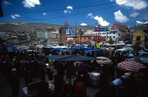 Bolivia - La Paz - mercato