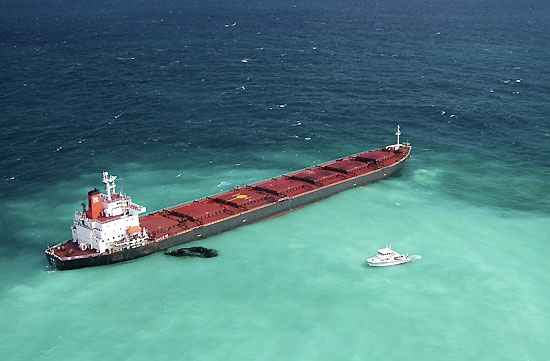 Australia: onda nera sulla Grande Barriera Corallina