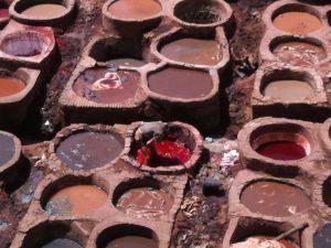 Marocco - Fes - le concerie