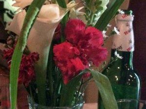 Bruco su fiori