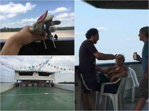 Giornata di navigazione sul Rio