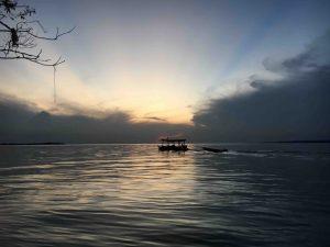 tramonto sul Rio Negro