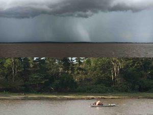 Rio Amazonas - tra pioggia e sole