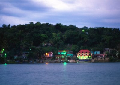 Arriving in Bocas del Toro - Panama, Central America