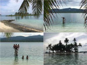 beautiful islands in san blas panama 300x225 - Capurganà: to the border between Colombia and Panama