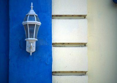 Blue and White - Leon - Nicaragua, Central America