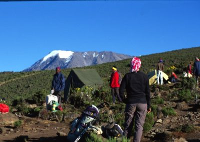 Camp - Kilimanjaro Trekking - Tanzania