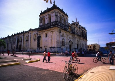 Cathedral Square - Leon - Nicaragua, Central America