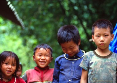 Children in Sapa Valley , Vietnam