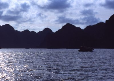 Clouds in Halong Bay , Vietnam