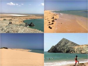coast sea sand in la guajira colombia 300x225 - Guajira Peninsula - the northernmost place in South America