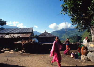 Day in a Village - Nepal