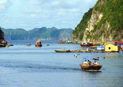 Day Life in Halong Bay , Vietnam
