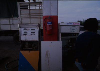 Gas Station on the Road - Tanzania