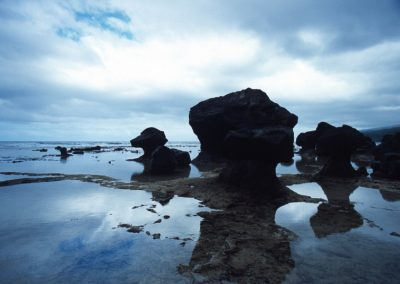 Lavena Coastal Walk - Rocks - Fiji