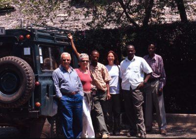 Mama and Baba - Start of the Safari - Kenya - Tanzania