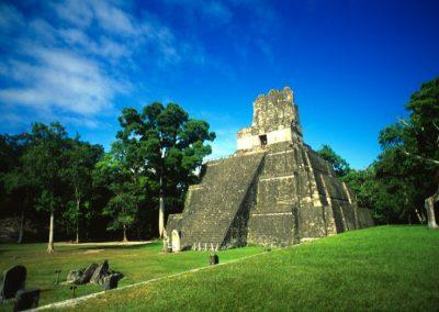 Maya's pyramid - Tikal - Guatemala, Central America