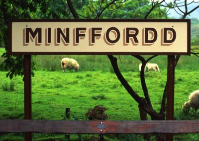 Minffordd Plate - Wales
