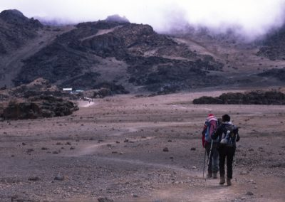 Near the Last Base Camp - Kilimanjaro Trekking - Tanzania