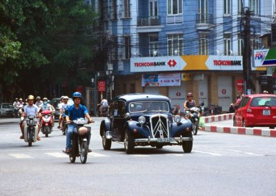 Old and New in Hanoi, Vietnam