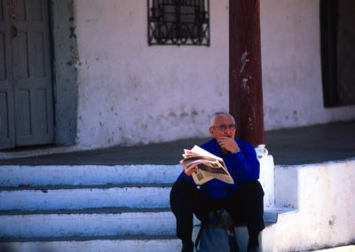 Old Man - Suchitoto - El Salvador, Central America