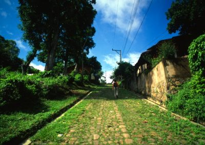 Old Street - Suchitoto - El Salvador, Central America
