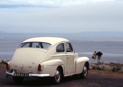 Old White Car - Ireland