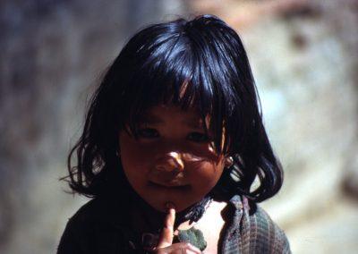Portrait - Girl - Nepal