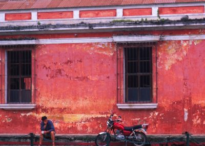 Red House - Antigua - Guatemala, Central America