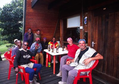 SImba Team - End of the Trek of Kilimanjaro - Tanzania