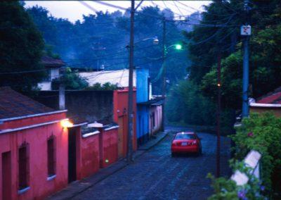 Street - Antigua - Guatemala, Central America