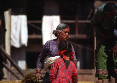 Two Women - Two Generation - Nepal