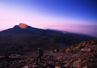View from the Top - Kilimanjaro Trekking - Tanzania