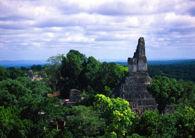 View of Tikal - Guatemala, Central America